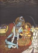 Shiva & Parvati by Kailesh Raj