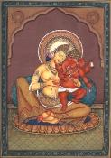 Parvati & Ganesh