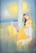 KUB02006 Shah Jahan & Jahanara by Mohanlal Soni