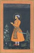 Young Shah Jahan by Kailesh Raj